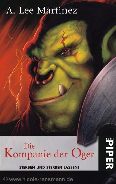 """Cover """"Die Kompanie der Oger"""""""