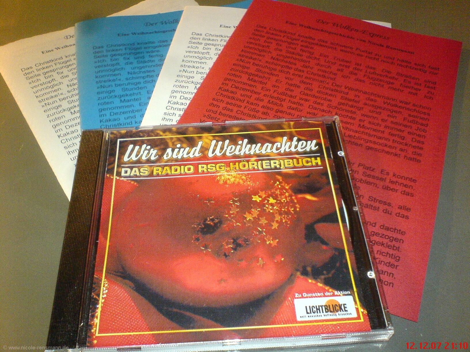CD und Faltblatt