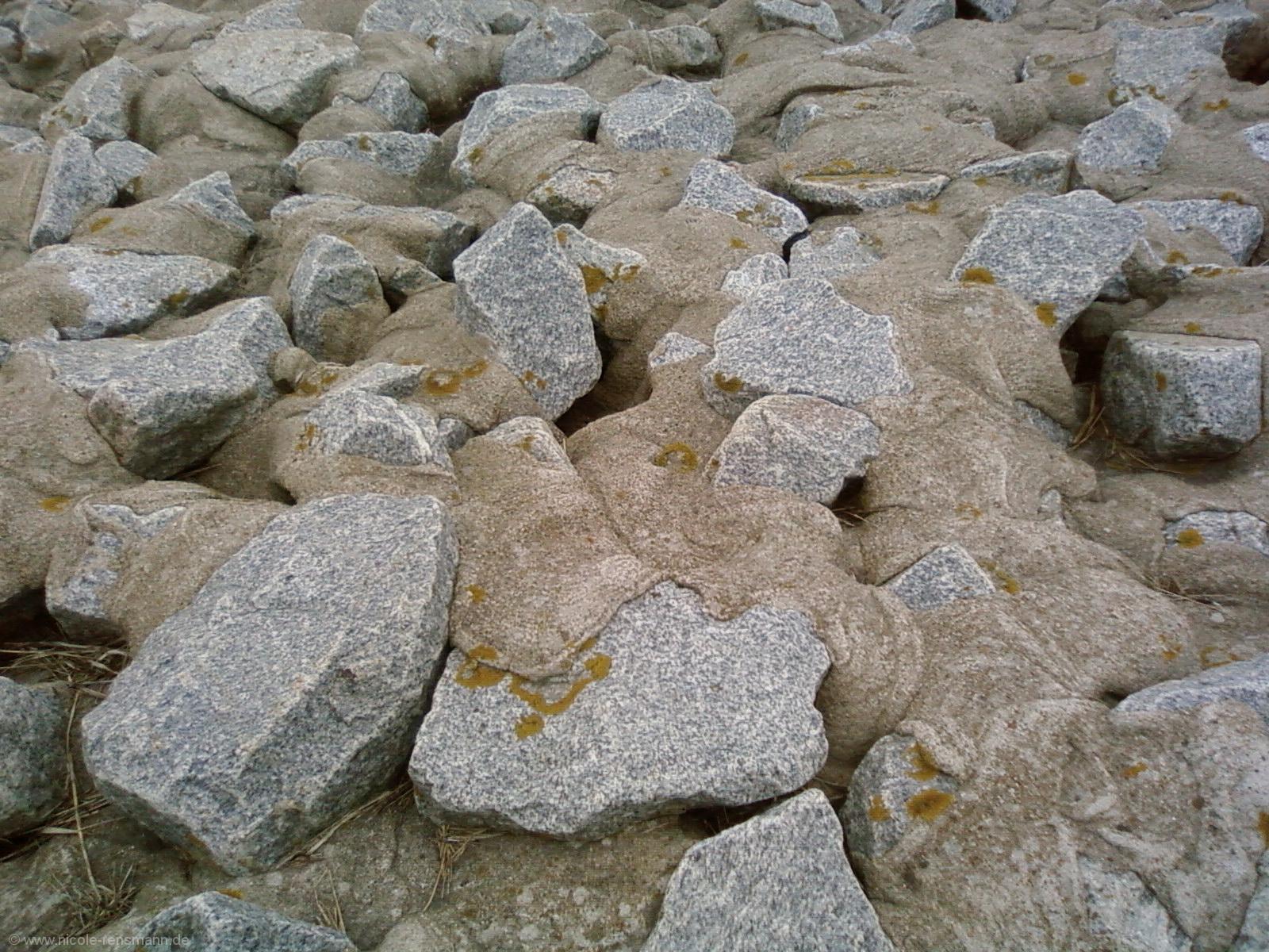 Versteinerter Sand
