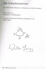 Signatur: Walter Moers