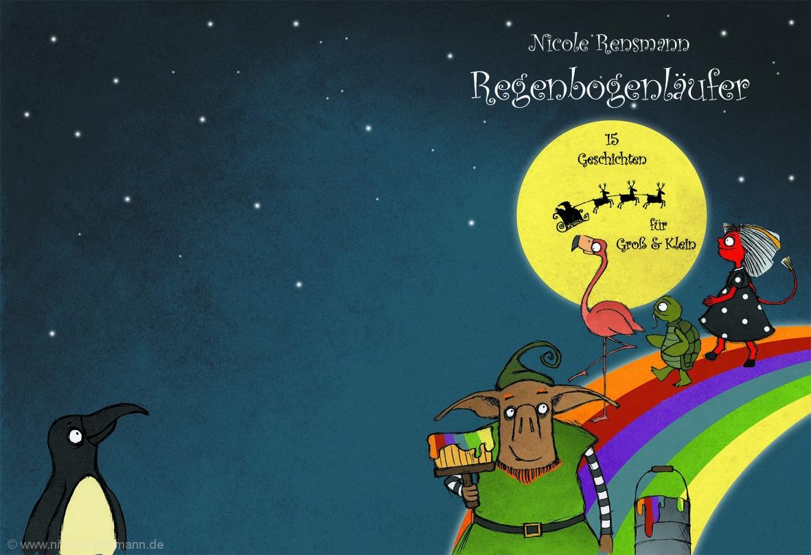 Umschlag: Regenbogenläufer, Nicole Rensmann
