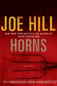 "Cover: Joe Hills ""Horns"", Hardcover"