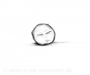 """Der Traurkloß aus """"Niemand"""" - er weint und jammert."""