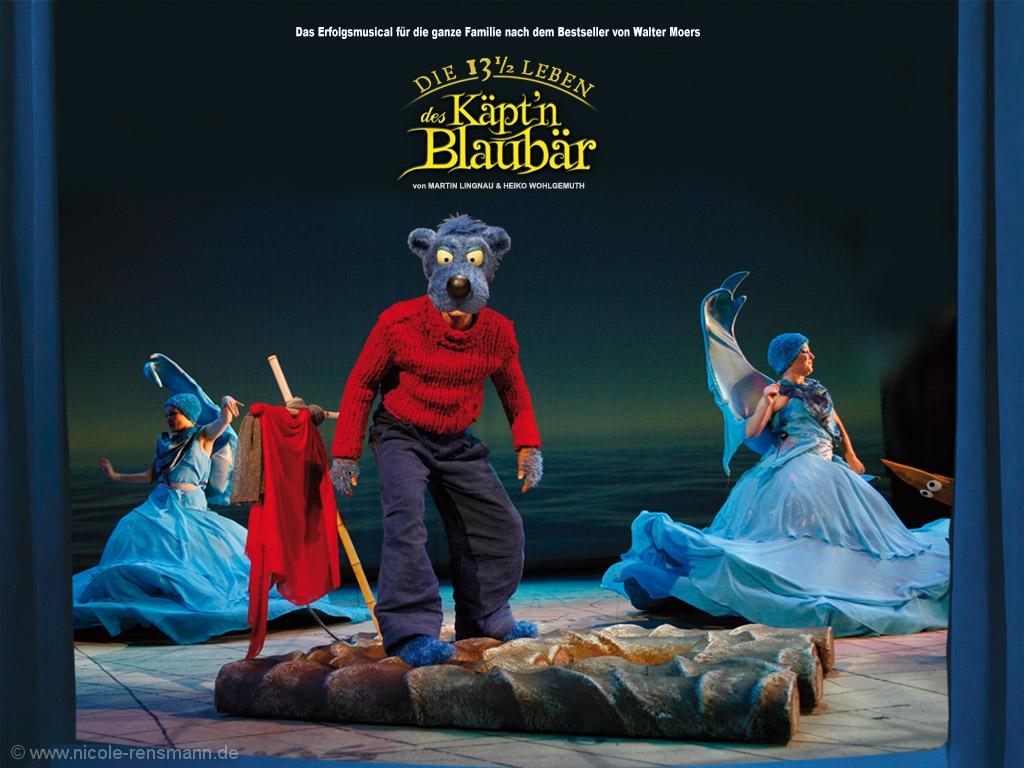 Der Blaubär und die Tratschwellen aus dem Musical