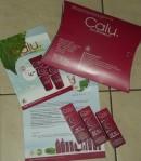 Das umfangreiche Paket von Calu.Naturkosmetik wird über www.calu.de angefordert. Hochwertige Creme im Wert von fast 22,-€