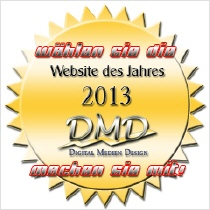 Button Beste Webseite 2013