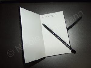 Das ist kein gewöhnliches Notizbuch ... wetten?