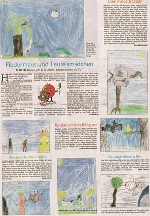 »Fledermaus und Teufelsmaedchen«Remscheider General Anzeiger, pünktchen, 06.03.2004