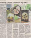 »Fantasyautorin Rensmann legt nach« Remscheider General Anzeiger 29.08.2016