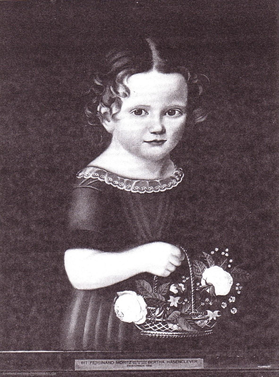 Bertha Hasenclever nicht signiert Von der Heydt-Museum