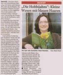 »Kleine Wesen mit blauen Haaren« von Sabine Naber Artikel zur Veröffentlichung von »Die Hobbijahns«, Remscheider General Anzeiger, 29.01.2011
