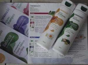 Shampoo und Conditioner von Herbacin