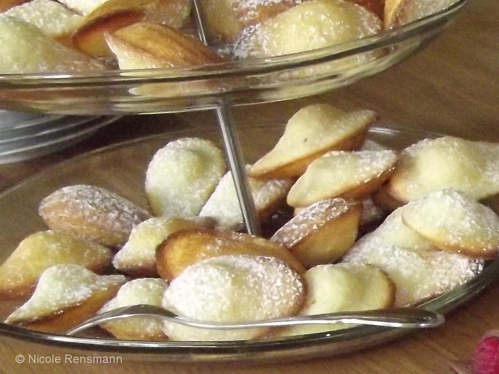 Madeleines mit Tonkabohne oder Vanille - lecker!