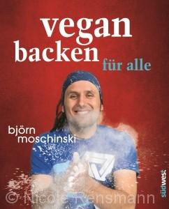 """© Cover: Südwest Verlag / """"Vegan backen für alle"""" von Björn Moschinski"""