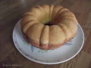 Frisch aus dem Ofen - der Kuchen duftet köstlich!