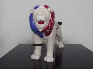 Unser Löwe für die Löwenparade 2014 ist zwar klein, aber besonders vielseitig!