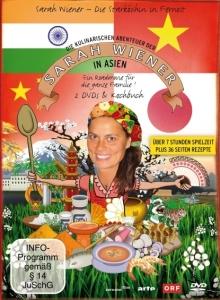 Cover: Sarah Wiener in Asien / Edel:Motion