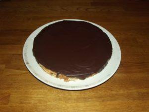 Baumkuchen mit Schokolade