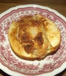 Bratapfel mit Macadamiafüllung