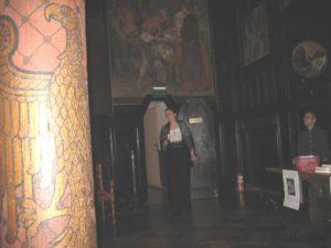 Lesung 2007 auf Schloß Burg: Szenenwechsel ins 19. Jahrhundert.