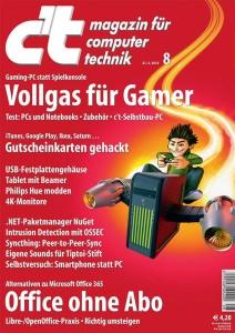 Cover: c't Ausgabe 8 / 2015