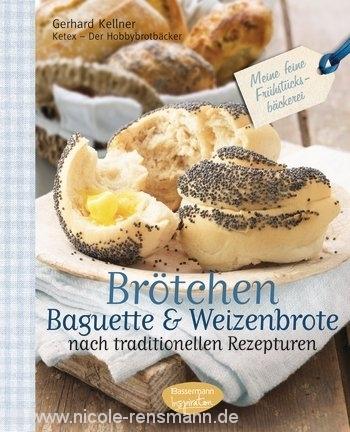 Cover: Brötchen, Baguette & Weizenbrote / Bassermann Inspiration