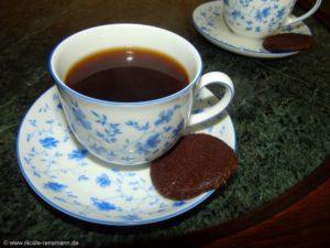 Ein Cookie zum Kaffee!