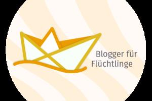 Logo: Blogger für Flüchtlinge
