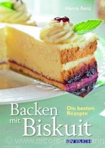 Cover: »Backen mit Biskuit« von Hanna Renz / Cadmos Verlag