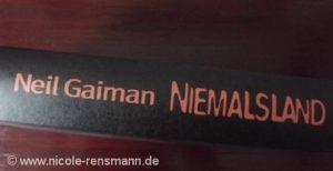 """Rücken/Cover: """"Niemalsland"""" von Neil Gaiman"""