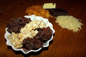 Knusper-Pralinen - selbstgemacht in drei Geschmacksrichtungen