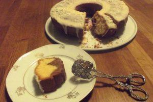 Orangen-Nougat-Cake