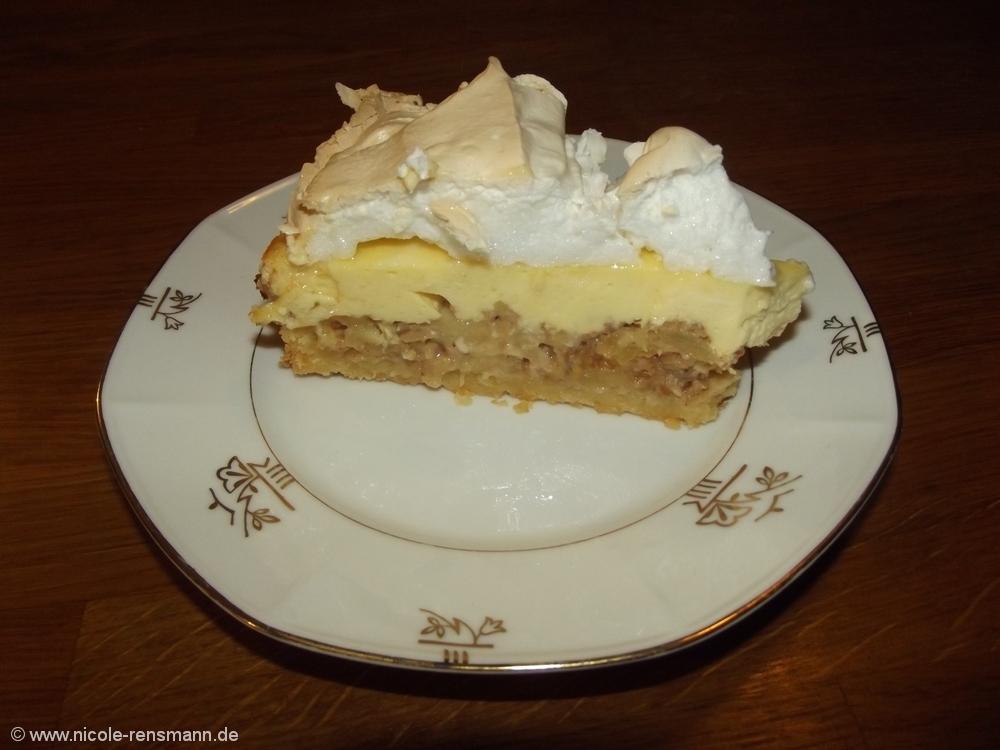 Bratapfelkuchen als Resteverwertung