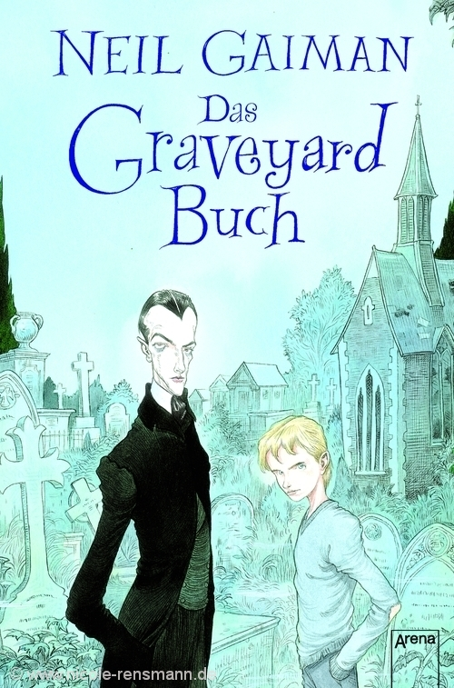 Cover: Das Graveyard Buch von Neil Gaiman / Arena Verlag