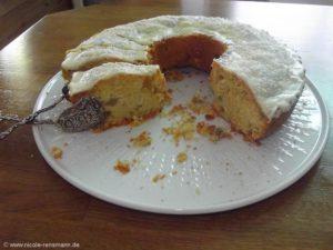 Rhabarber-Rührteig-Kuchen