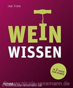 Cover: Weinwissen von Ina Finn / Hallwag Verlag