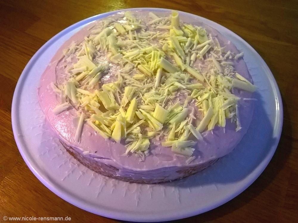 Buttercreme-Torte, einschichtig