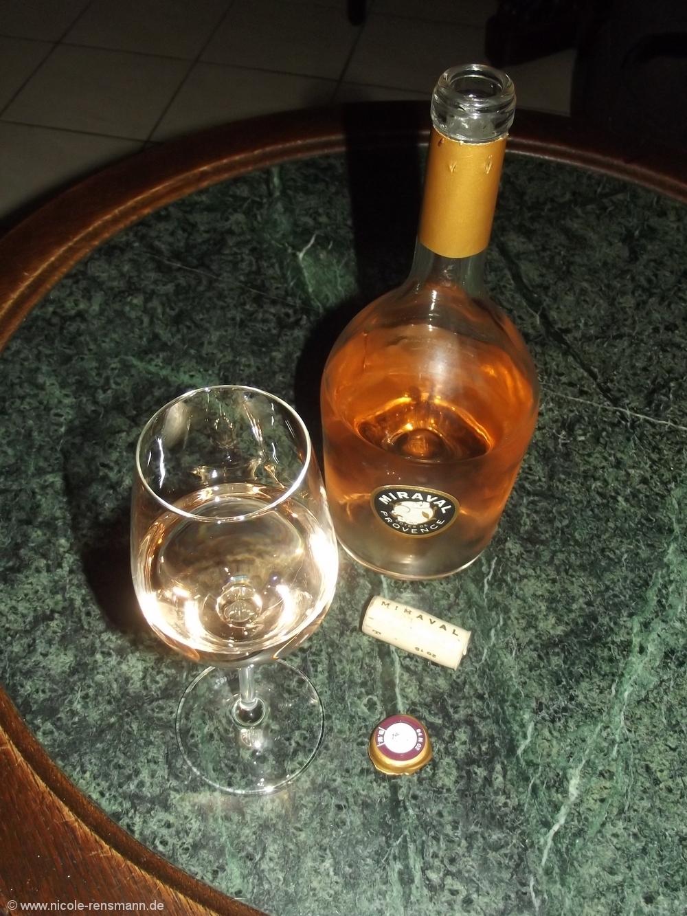 Miravel Rosé vom Weingut JoliePitt & Terrin