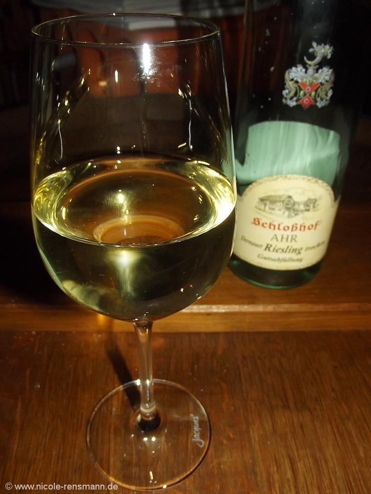 Dernauer Riesling vom Weingut Schloßhof / Ahr