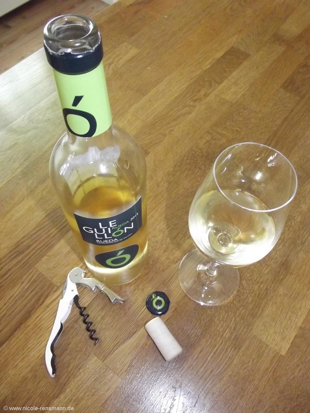 Einem geschenkten Wein ... Leguillón Rueda Bodegas Mocen 2015