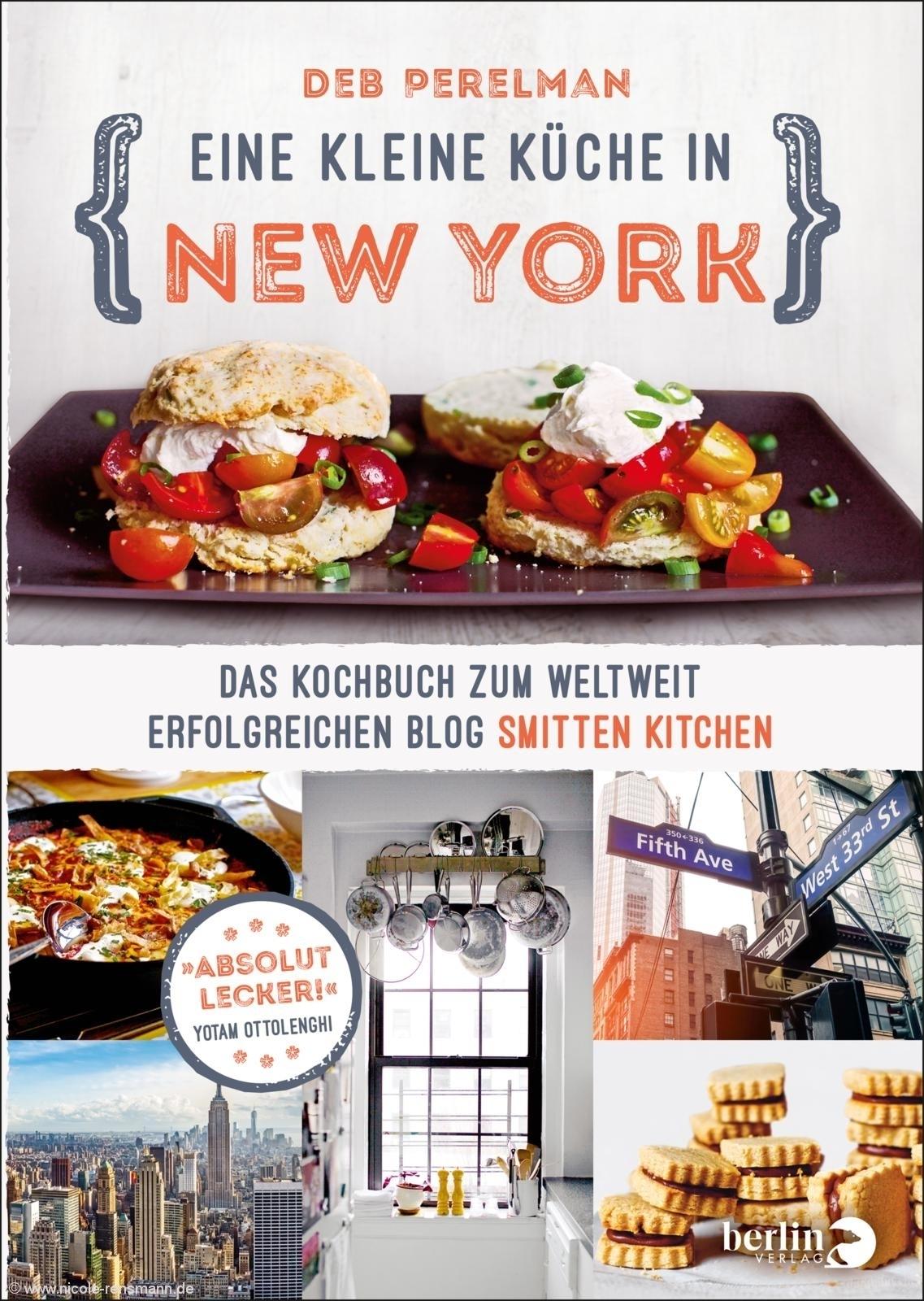 © Cover: »Eine kleine Küche in New York« von Deb Perelman / Berlin Verlag