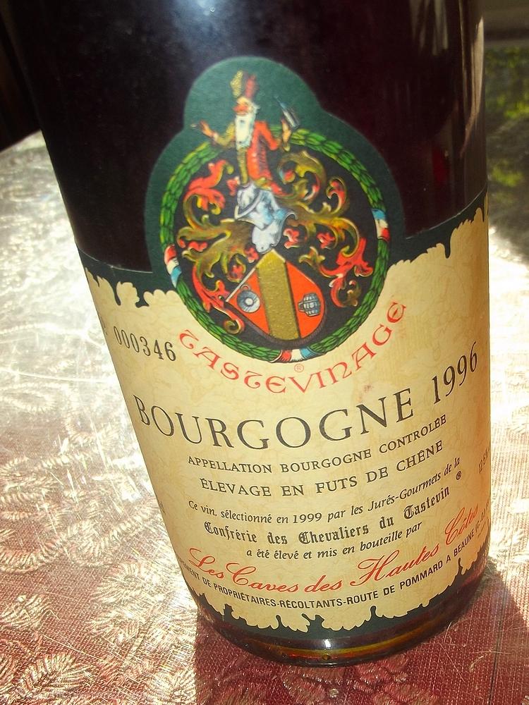 Bourgogne 1996 - Les Caves des Hautes Cotes