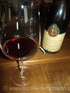 Pinot Noir Bourgogne 1996 - offen