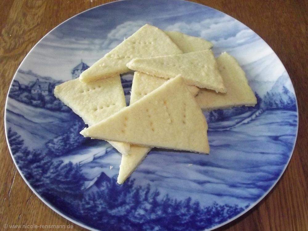 Zitronen-Shortbread