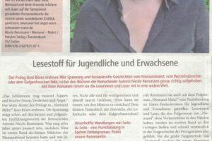 »Lesestoff für Jugendliche und Erwachsene« Advent Magazin 2016 vom Lüttringhauser Anzeiger November 2016