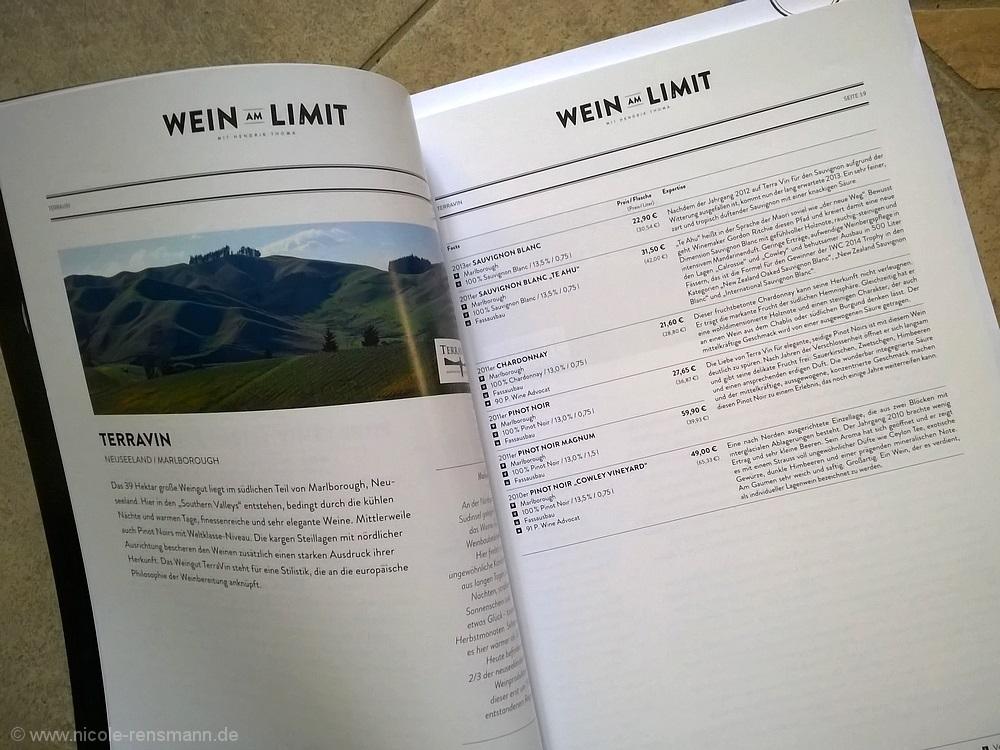 Ein Blick in den Katalog