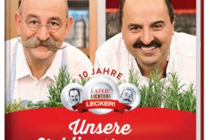 © Cover: »Unsere Lieblingsrezepte« von Johann Lafer & Horst Lichter / Callwey