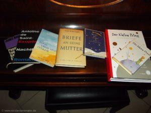 Kleine Buchauswahl von und über Antoine de Saint-Exupéry