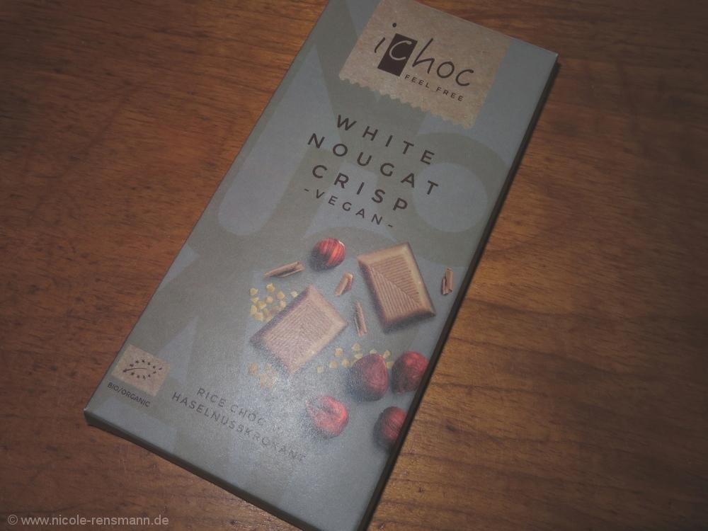 iChoc Haselnusskrokant-Schokolade