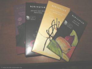 Kleine Auswahl: björnsted-Schokolade